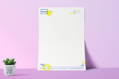הדפסת דפי לוגו ניירת לוגו